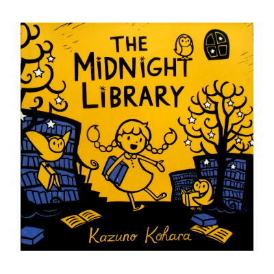 Kazuno Kohara(カズノ・コハラ)「The Midnight Library」(よるのとしょかん)